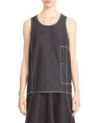 Marni - Multicolor Denim Tank for Men - Lyst