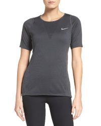Nike | Black Zonal Cooling Relay Tee | Lyst