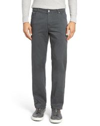 Bugatchi   Gray Slim Fit Five-pocket Pants for Men   Lyst
