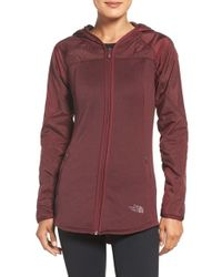 The North Face | Red 'spark' Water Resistant Jacket | Lyst