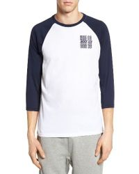 Nike   White Sb Dry Graphic Baseball T-shirt for Men   Lyst