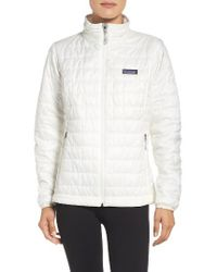 Patagonia | Blue Nano Puff Water Resistant Jacket | Lyst