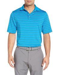 Bobby Jones - Blue 'xh20 Carbon' Multi Stripe Golf Jersey Polo for Men - Lyst