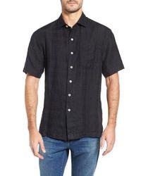 Tommy Bahama - Black The Big Bossa Standard Fit Sport Shirt for Men - Lyst