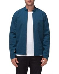 Tavik   Blue Terrace Water Repellent Zip Jacket for Men   Lyst