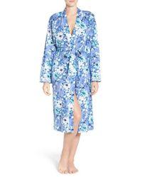 Carole Hochman | Blue Cotton Robe | Lyst