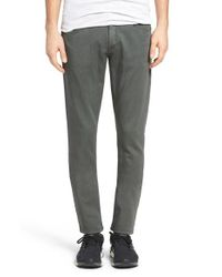 Ezekiel | Gray Chopper Slim Fit Knit Denim Pants for Men | Lyst