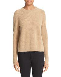 Rag & Bone | Brown 'valentina' High/low Cashmere Sweater | Lyst