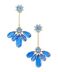 kate spade new york | Blue 'color Crush' Drop Earrings | Lyst