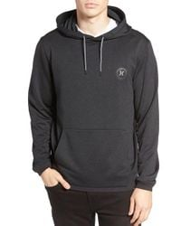 Hurley | Black Disperse Dri-fit Hoodie for Men | Lyst