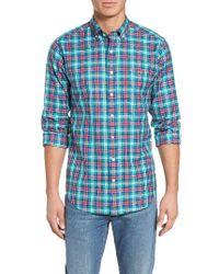 Vineyard Vines | Blue North Shore Tucker Plaid Sport Shirt for Men | Lyst