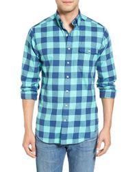 Vineyard Vines | Blue Fishbar - Tucker Slim Fit Check Sport Shirt for Men | Lyst