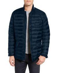 Ben Sherman - Packable Down Jacket, Blue for Men - Lyst