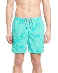 Tommy Bahama | Blue Naples Hibiscus Haze Print Swim Trunks for Men | Lyst