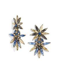 BaubleBar | Blue 'halcyon' Drop Earrings | Lyst