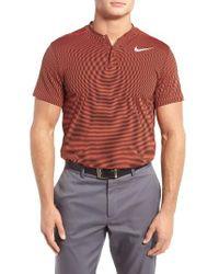 Nike   Orange Aeroreact Golf Polo for Men   Lyst