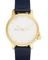 Miansai | Multicolor M24 Ii Leather Strap Watch | Lyst