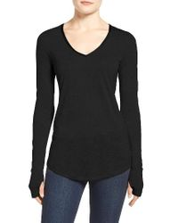 NIC+ZOE | Black Coveted Layer Top | Lyst
