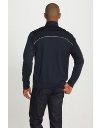 Cutter & Buck Blue 'ridge' Weathertec Wind & Water Resistant Pullover for men
