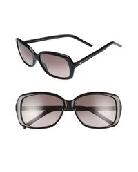 Marc By Marc Jacobs | Black Marc Jacobs 57mm Sunglasses | Lyst