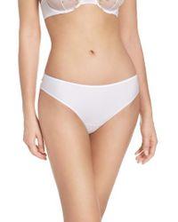 La Perla White Liaison Panty