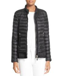 Moncler | Black Diantha Water Resistant Down Jacket | Lyst