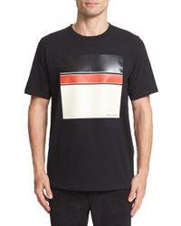Rag & Bone | Black Graphic T-shirt for Men | Lyst