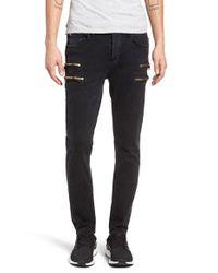 Hudson Jeans | Black Broderick Skinny Fit Jeans for Men | Lyst
