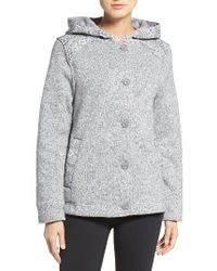 Patagonia | Gray Better Sweater Icelandic Jacket | Lyst