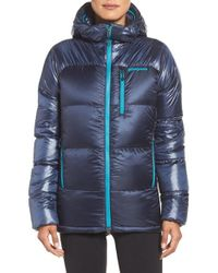 Patagonia | Blue Fitz Roy Goose Down Parka | Lyst