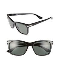 Persol | Black 50mm Polarized Sunglasses for Men | Lyst