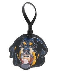 Givenchy | Black Rottweiler Key Ring - None | Lyst