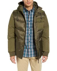 Victorinox | Green Victorinox Swiss Army Mill Convertible Jacket for Men | Lyst