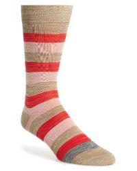 Paul Smith | Red Spaceman Stripe Socks | Lyst