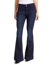 William Rast Blue Flawless Flare Jeans