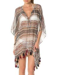 Becca | Multicolor Shoreline Cover-up Tunic | Lyst
