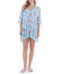 Everly Grey | Blue Dawn 4-piece Maternity/nursing Pajama Set | Lyst