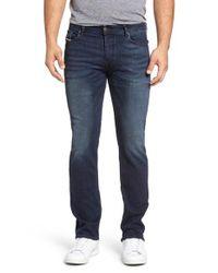 DIESEL   Blue Diesel Waykee Straight Leg Jeans for Men   Lyst