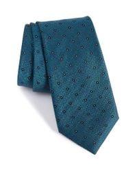 Calibrate | Blue Handmade Dot Silk Tie for Men | Lyst