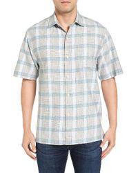 Tommy Bahama | Blue Rattan Drift Original Fit Short Sleeve Sport Shirt for Men | Lyst