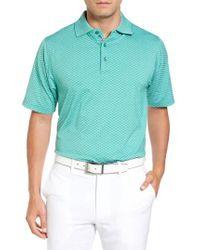 Bobby Jones | Blue Xh20 Rye Check Stretch Golf Polo for Men | Lyst