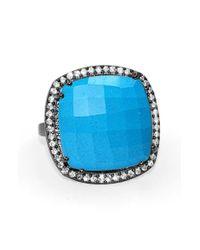 Susan Hanover | Blue Designs Semiprecious Stone Ring | Lyst