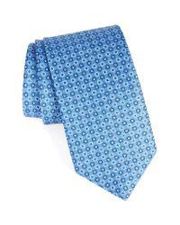Eton of Sweden | Pink Geometric Silk Tie for Men | Lyst