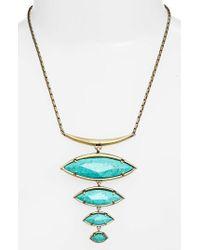 Kendra Scott | Blue Morris Bib Necklace | Lyst