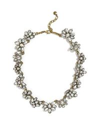 BaubleBar | Metallic Araz Crystal Collar Necklace | Lyst