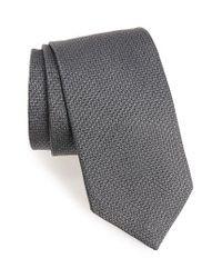 David Donahue   Blue Medallion Silk Tie for Men   Lyst