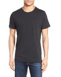 Bonobos   Black Jersey Pocket T-shirt for Men   Lyst