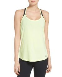 Under Armour | Multicolor Fly By Racerback Tank | Lyst