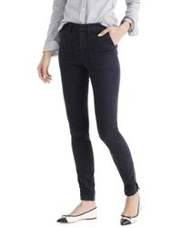 J.Crew - Multicolor Zip Ankle Stretch Skinny Cargo Pants - Lyst