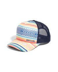 Rip Curl - Blue Sun Gypsy Trucker Hat for Men - Lyst